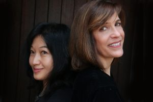 Sarah Partridge and Tomoko Ohno